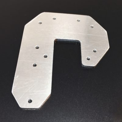 Machined Single Extruder Base Plate