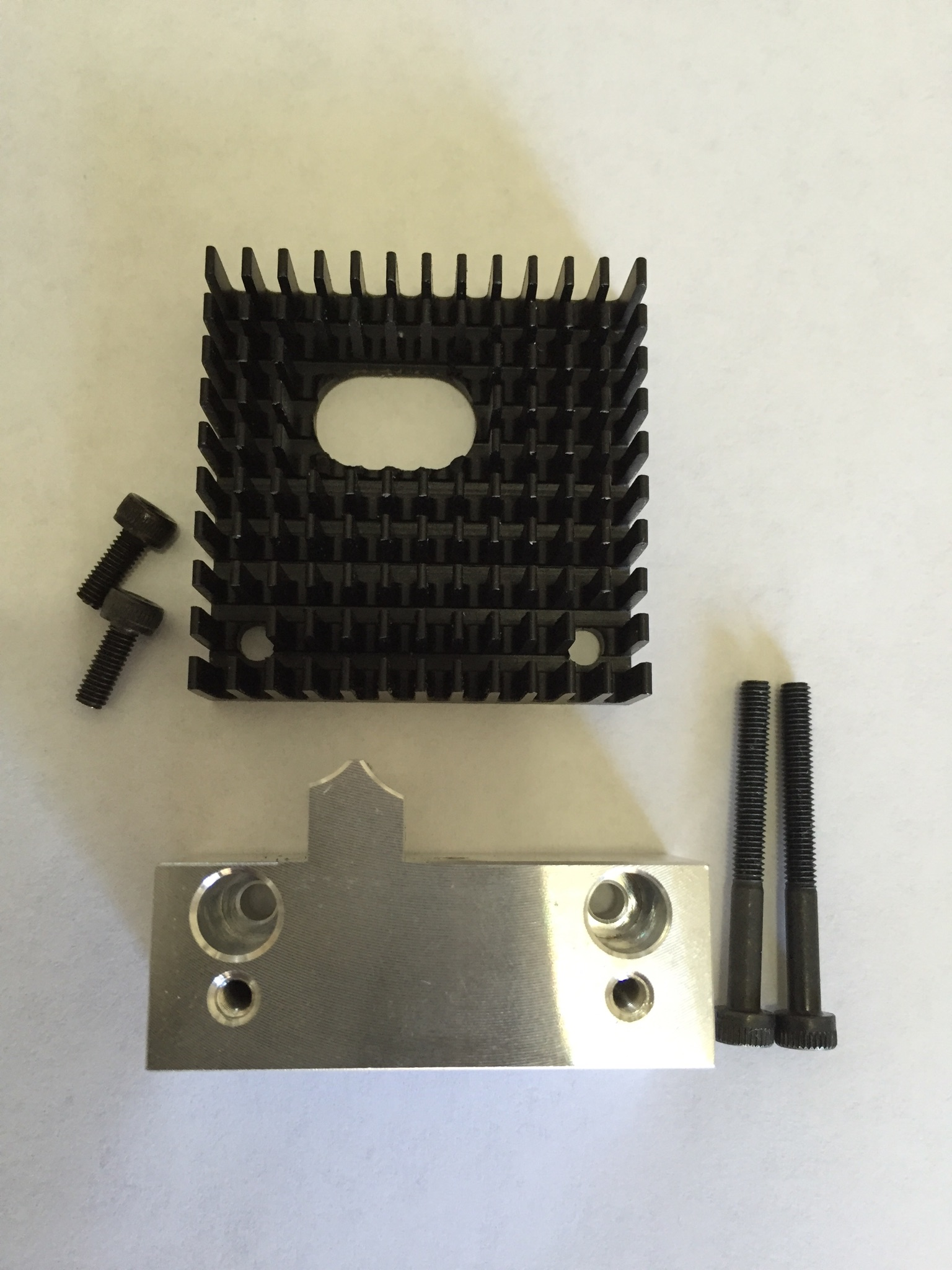 Extruder Mounting Block Upgrade Kit