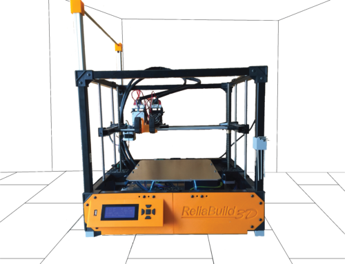 This is the Reliabuild 3D Printer. Open source, open frame, open mind.
