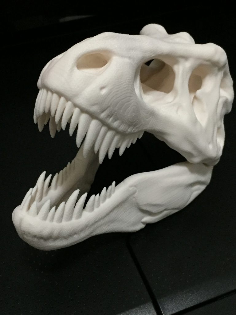 ReliaBuild 3D prints huge dinosaur