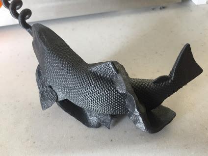 part cooling system inovation crisp details fish