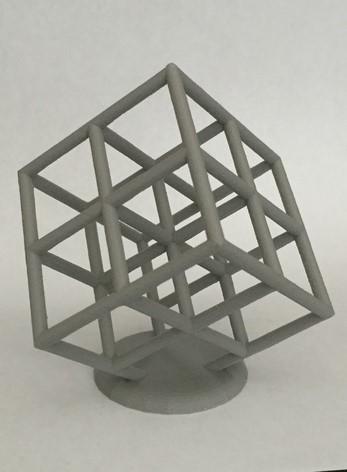 part cooling system lattice cube torture test