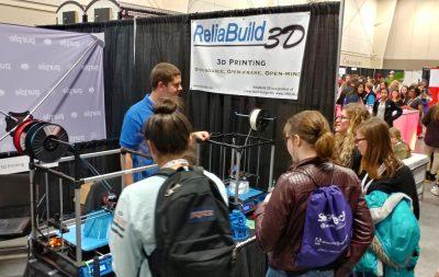 SheTech High School girls introduced to ReliaBuild 3D printing