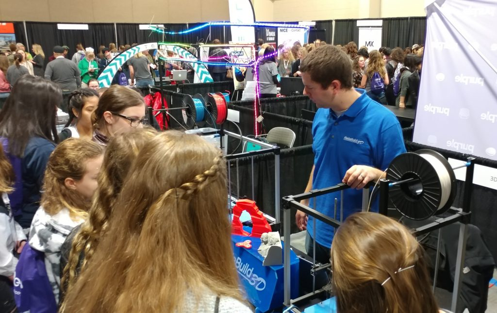 SheTech High School girls are introduced to ReliaBuild 3D printing